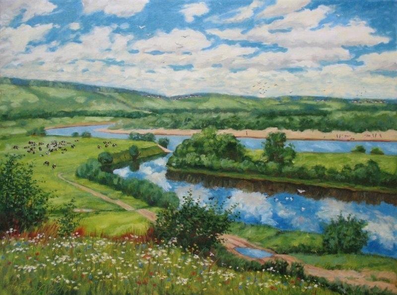 Долина реки Юг