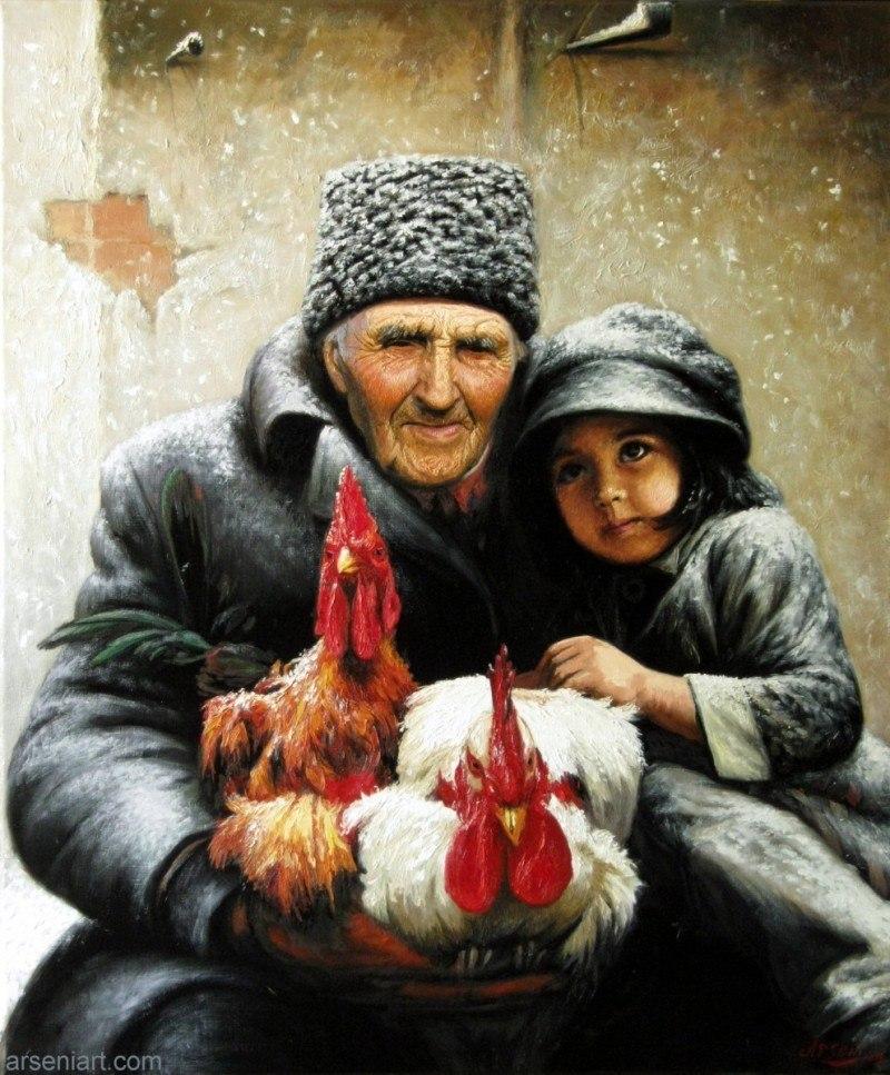 Дедуля, я хочу на Рождество, чтоб мне мамочка приснилась...
