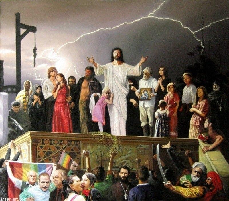 Иисуса казнят каждый день! Видение 2011 года 20 октября