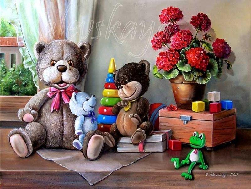 Три медвежонка