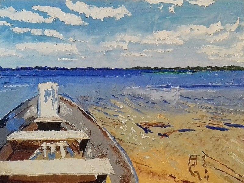 Лодка на Свитязе