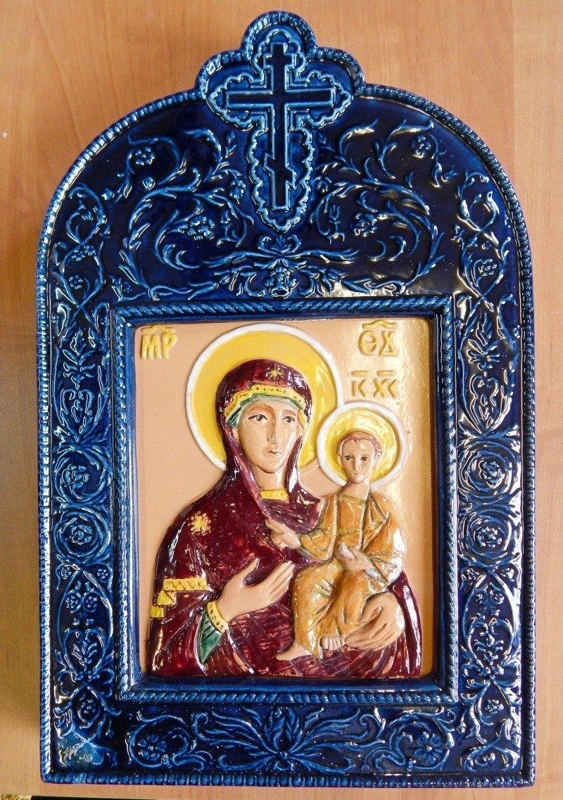 Керамическая Икона Божией Матери