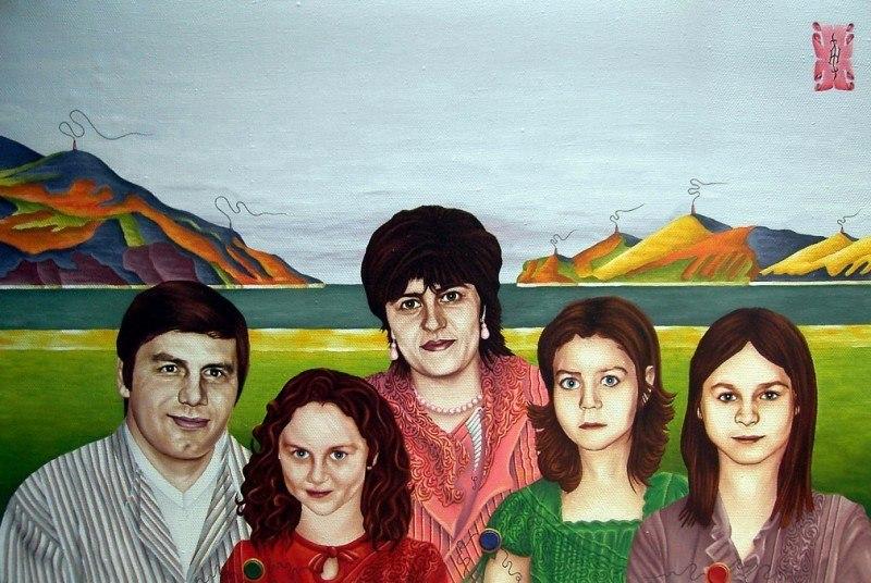 Портрет семьи из Калининграда