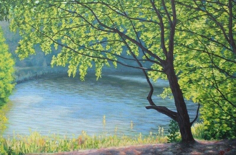 Озеро на Фрушке