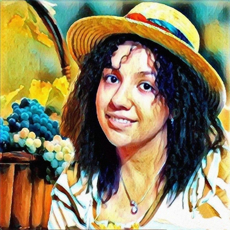 Cборщица винограда