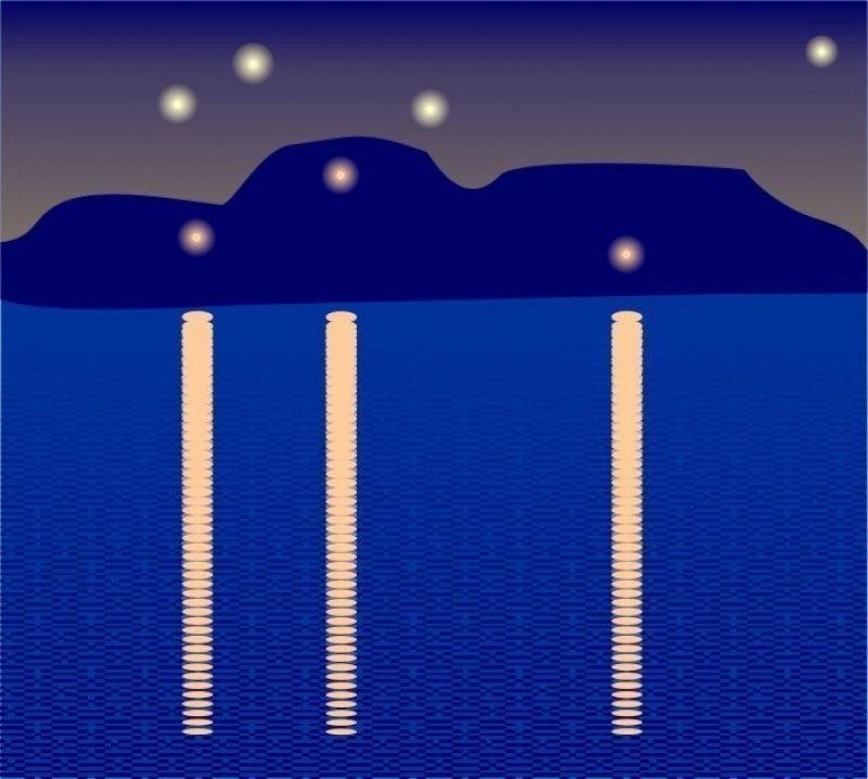 ночной лиман