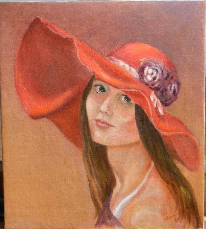 """""""Дама в шляпе"""""""