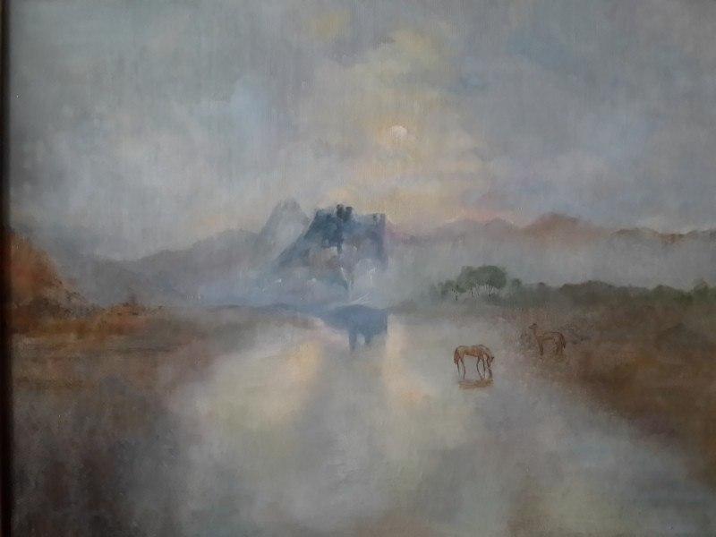 """«Замок Норхэм. Восход» """"J. M. W."""" Turner"""