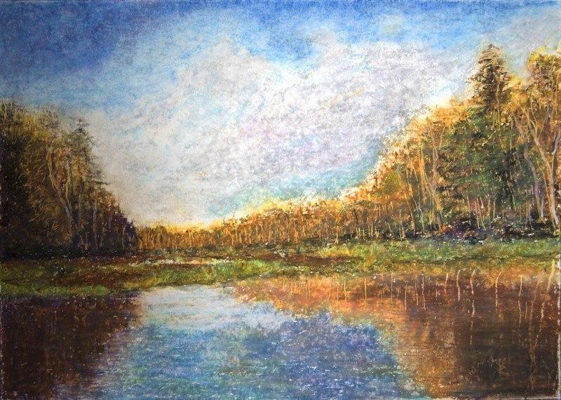 Река Пра. Окский заповедник.