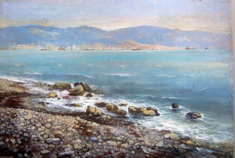 Берег моря,Новороссийск