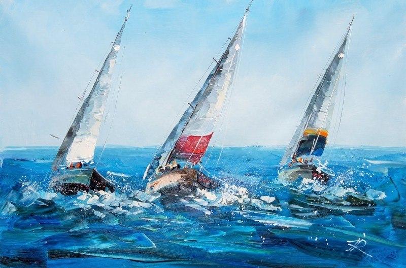 Яхтинг. Под разноцветными парусами N2