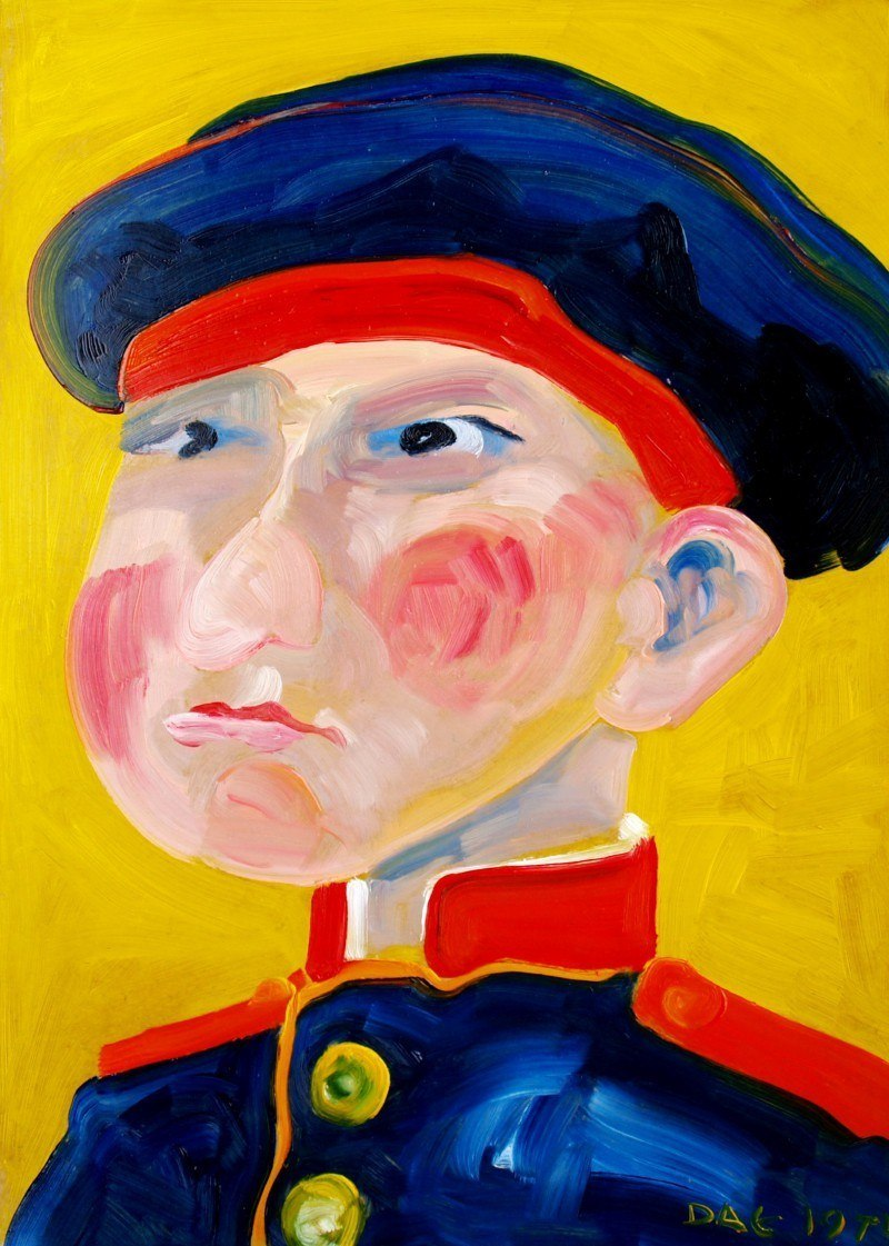Русский солдат.  Сын полка. 1814 год.