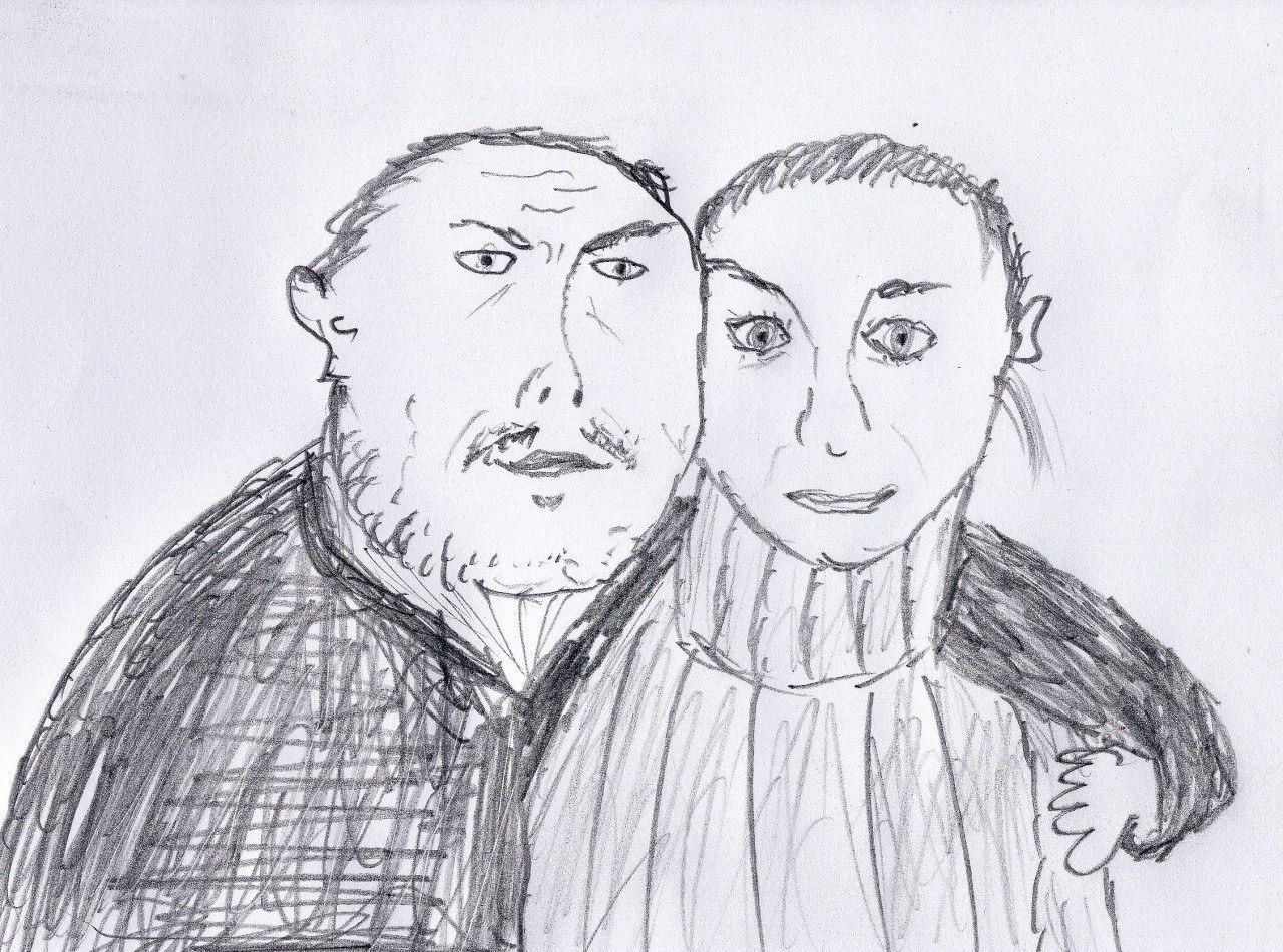 наблюдатель, картинки для брата от сестры нарисовать людей, особенно известных