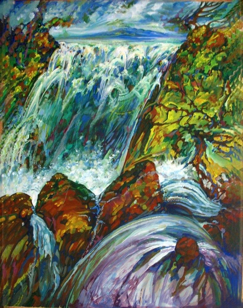 Весёлый водопад