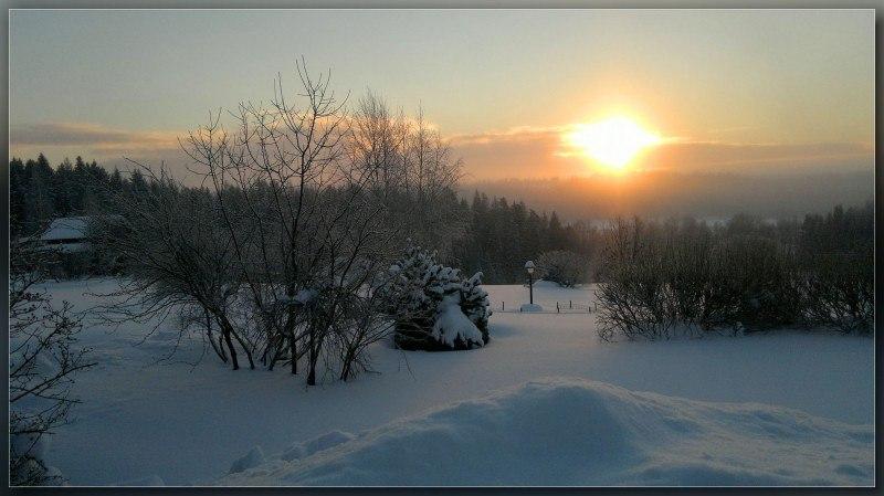 Подмосковная зима..