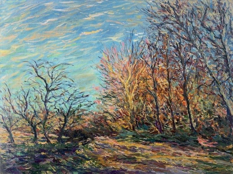 Осенний пейзаж (Посвящение Альфреду Сислею)