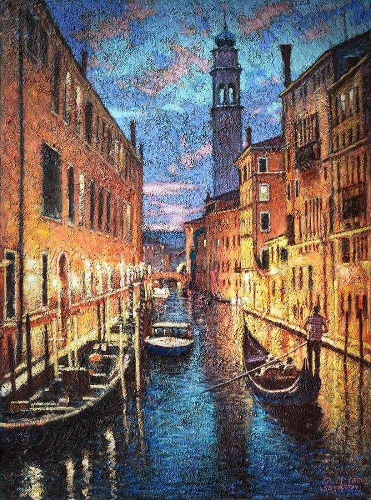 Красота вечерней Венеции