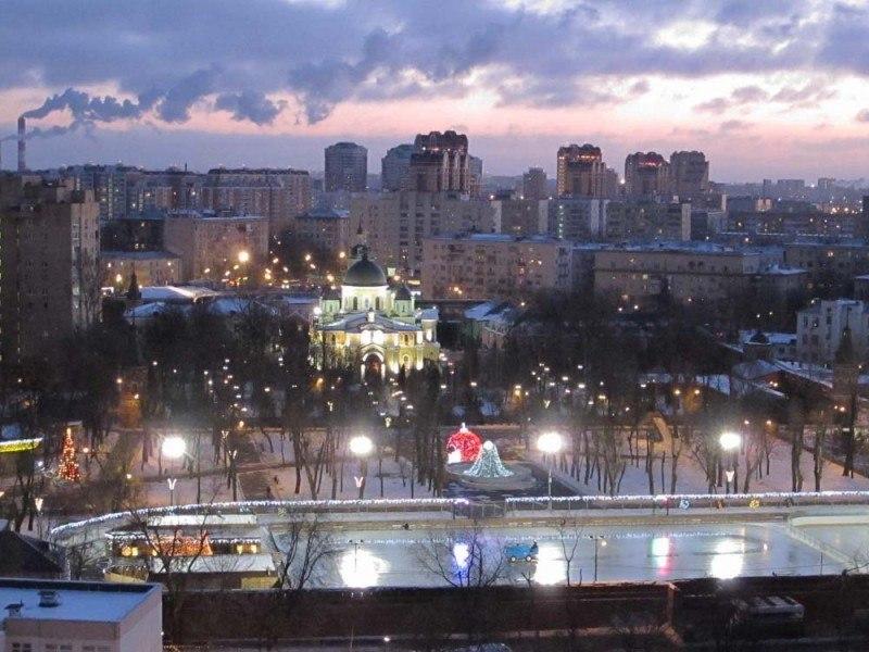 Москва  Ждановский парк