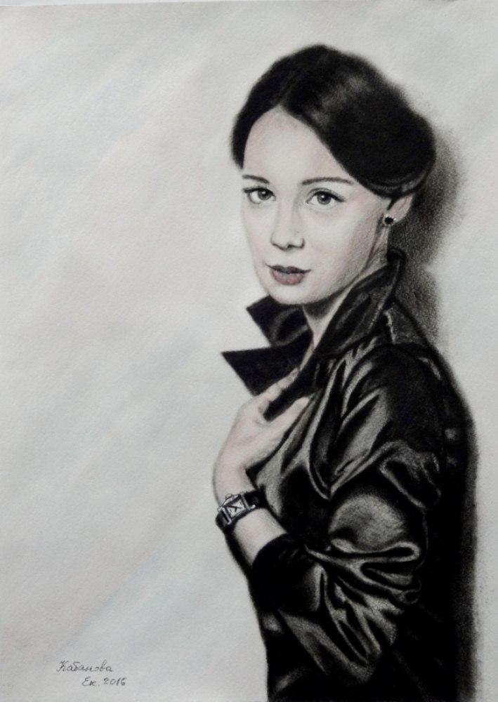 Портрет Чулпан Хаматовой, актрисы театра и кино