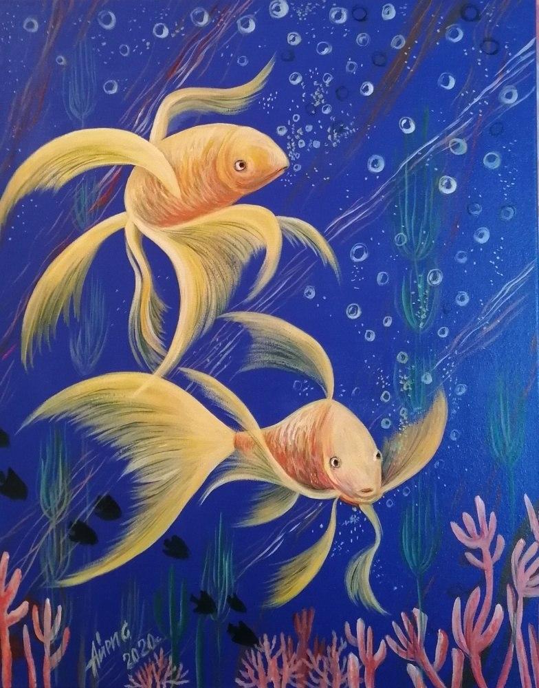 Золотые рыбы