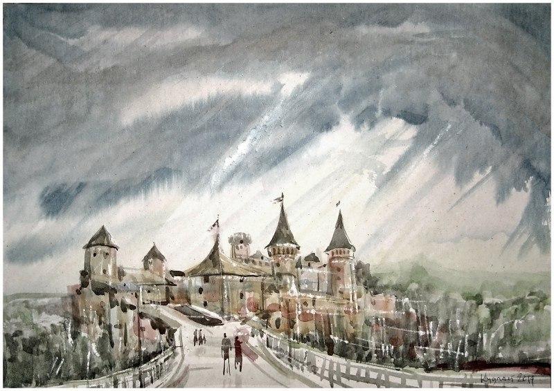 Каменец-подольский_ Старый замок