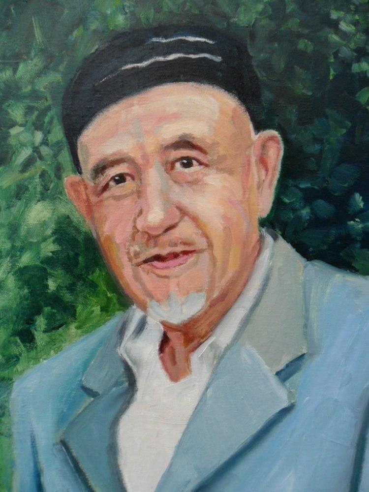 Портрет дедушки по фото
