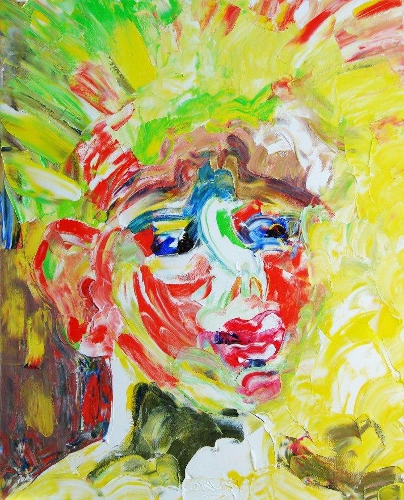 Солнечный мальчик (Сын художника Саша)