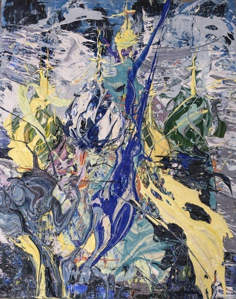 Картина Москва Кремль Храм Василия Блаженного Живопись Екатерина Лебедева художница Современное искусство