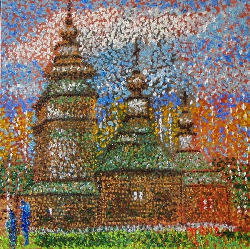 Львовский музей архитектуры. Лемковская церковь