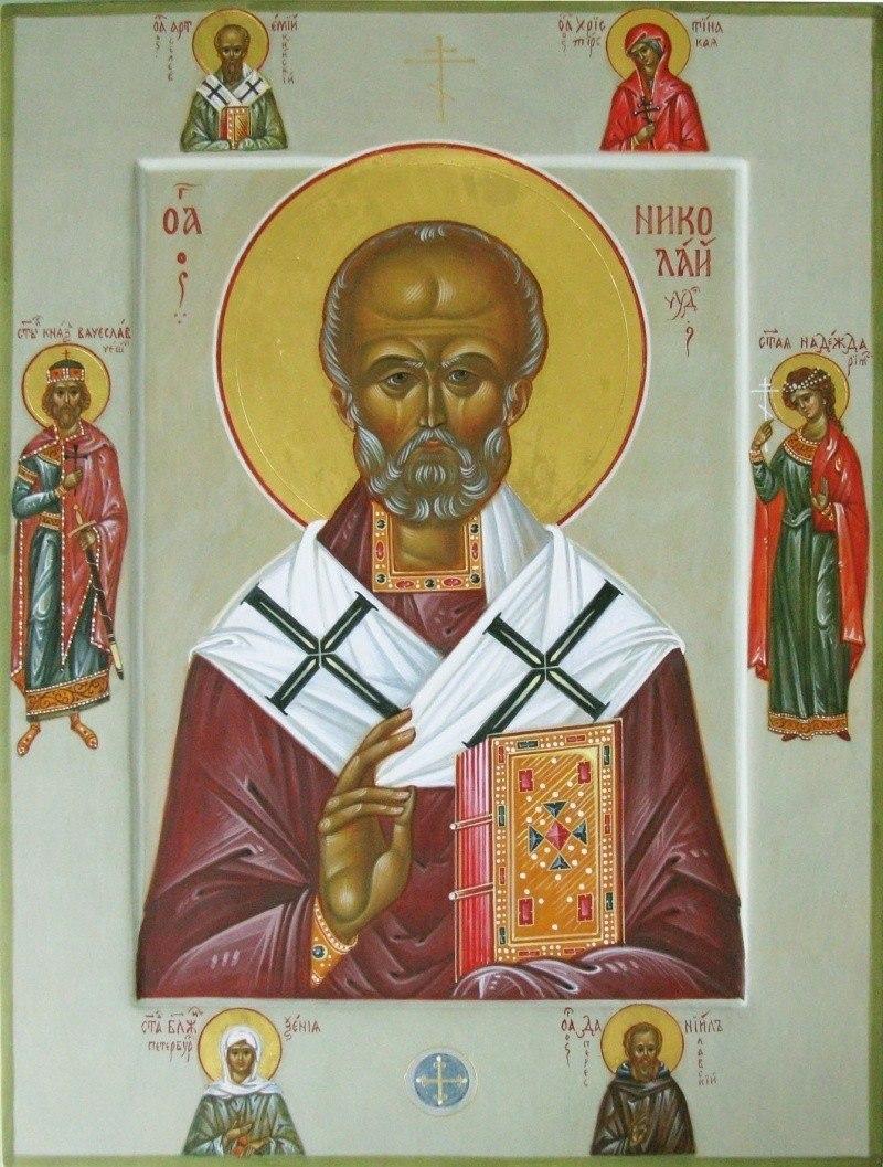 Св. Николай Чудотворец со святыми