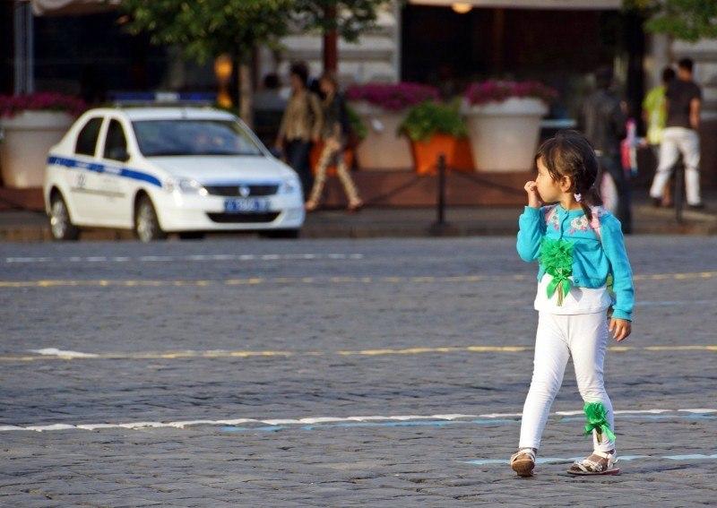 Детский взгляд на Красную площадь