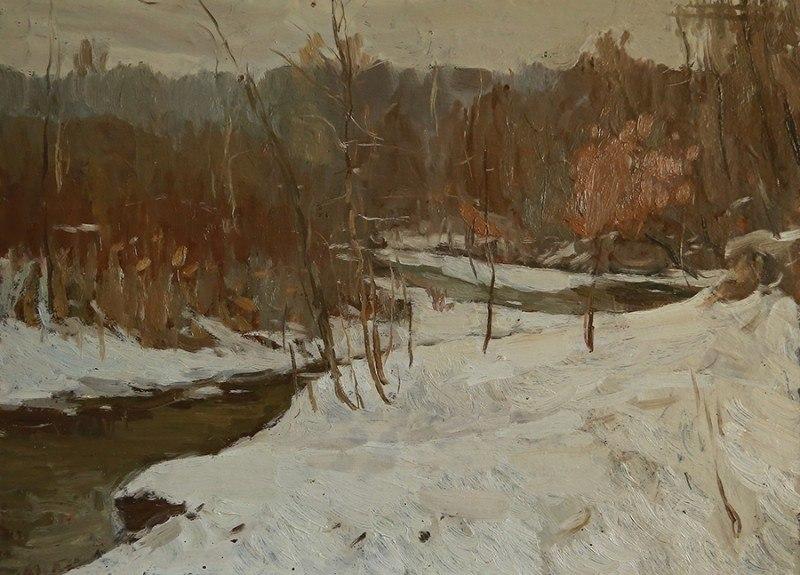 Зима близ ст. Азовской