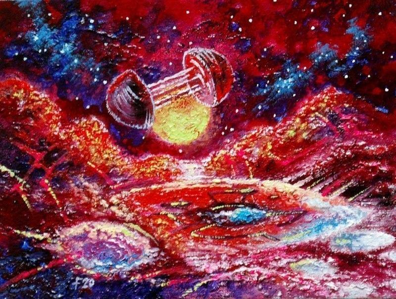 Плутон через миллиарды лет.Последний форпост человечества.