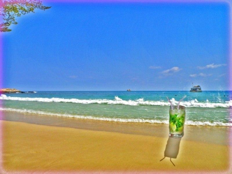 Мохито на пляже