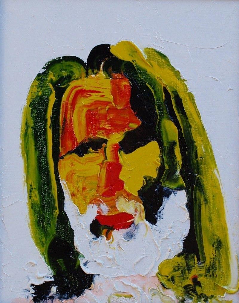 Человек с белой бородой (Автопортрет)
