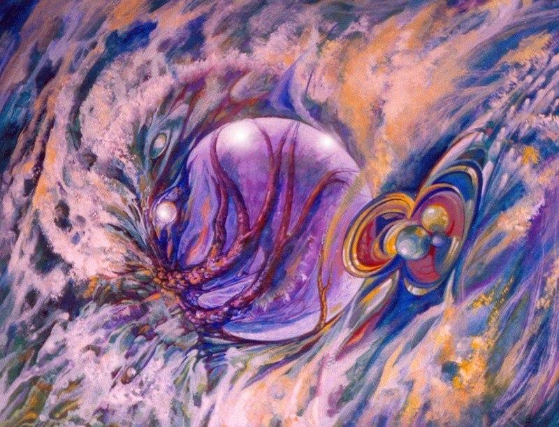 Фиолетовый шар