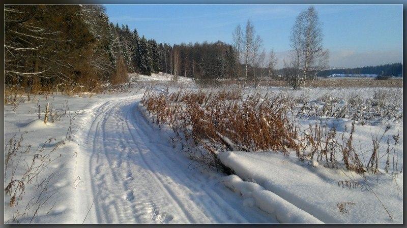 Дороги зимы ...