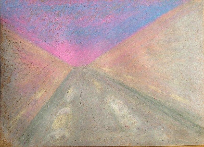 закат над искровским проспектом