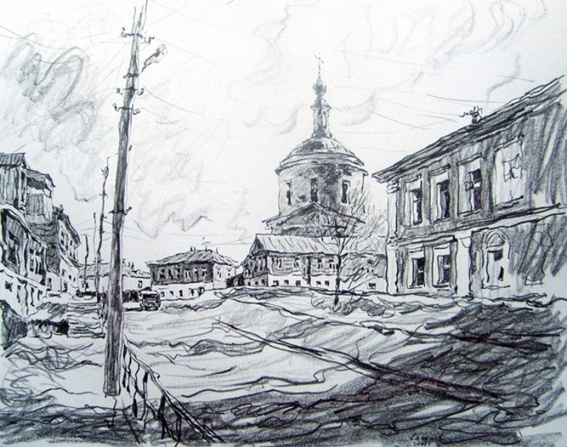 Боровский пейзаж