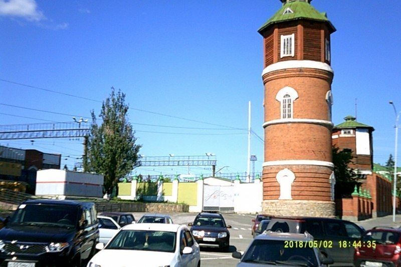 Красивая башня
