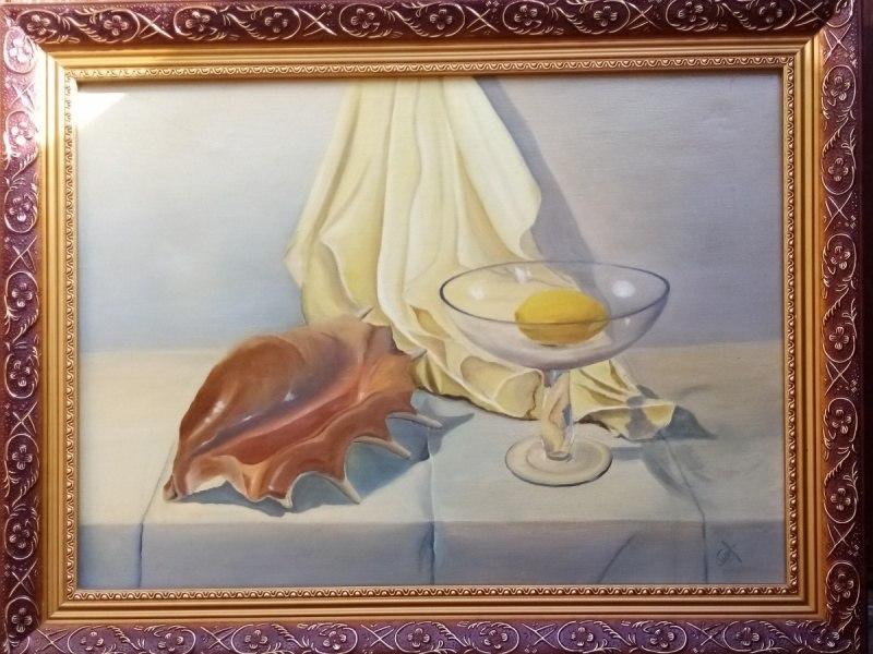 """Натюрморт с ракушкой"""