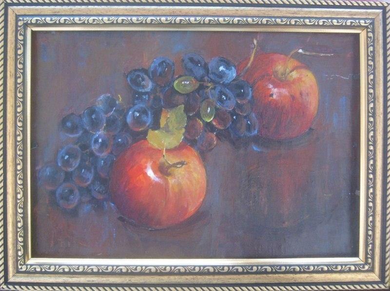 Виноград,яблоки