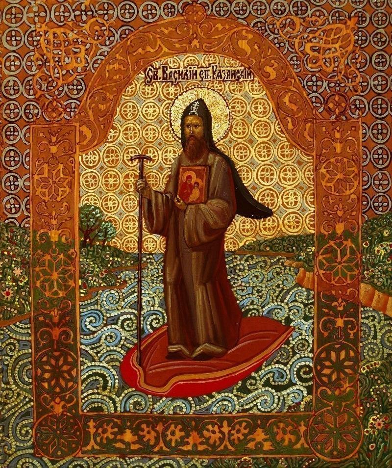 Святитель Василий I епископ Рязанский и Муромский