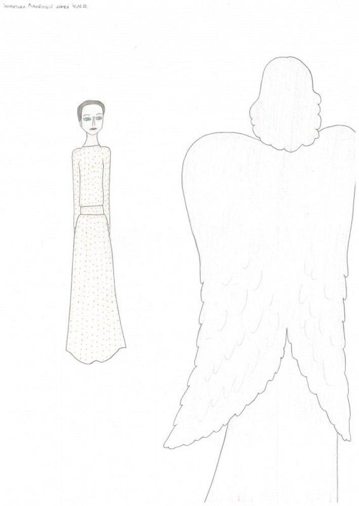 Романтика Марины Цветаевой. Каменный ангел