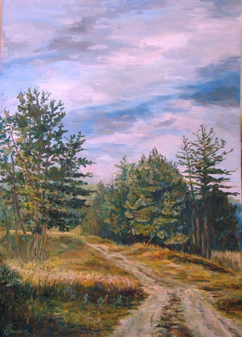 На окраине леса