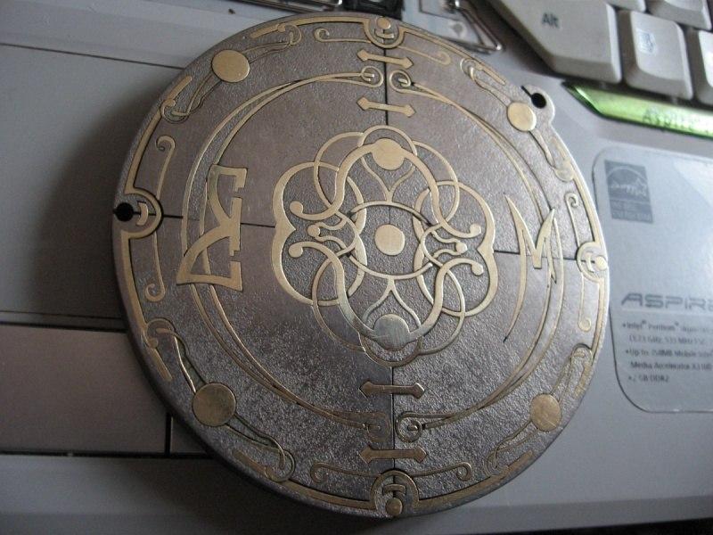 Медальон  (Инкрустация)
