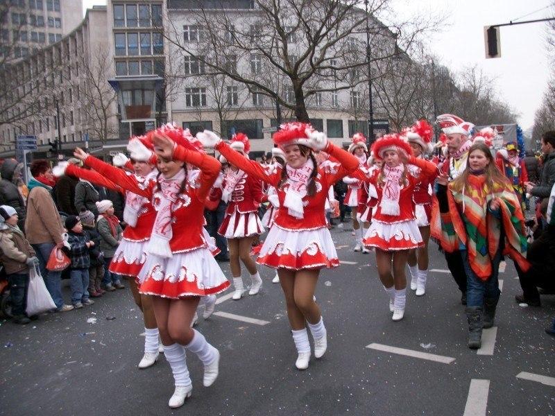 Маскарад на улицах Берлина