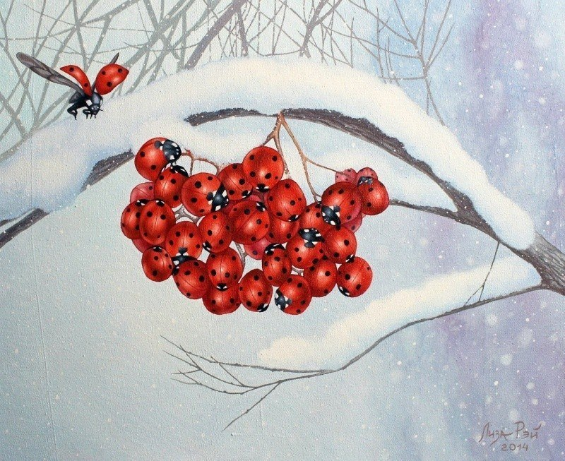 Лиза Рэй – Зимняя рябина
