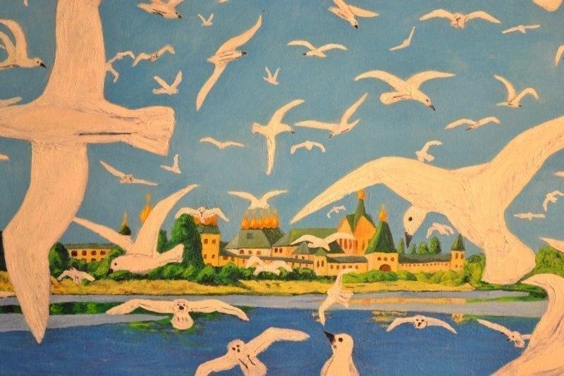 Белокрылые чайки