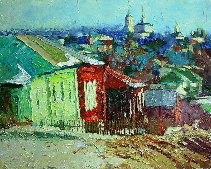 Этюд 167 Красная Горка